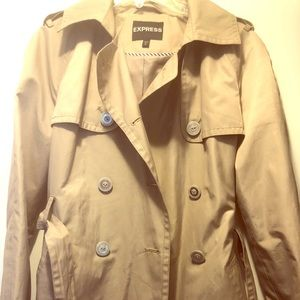 Express trench coat.